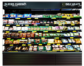Cheese Fridge 3D model