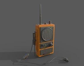 3D model radio wakitaki