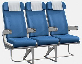 3D model Airplane chair