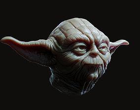 3D print model Yoda Head