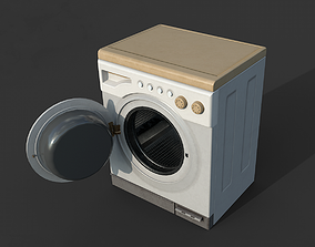 Washer 3D asset