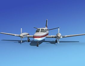 3D model Cessna 441 Conquest II V09