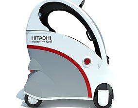 Hitachi Ropits Robot Car 3D model