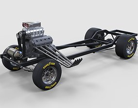 3D model Chassis of Gasser
