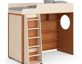 Legenda K05 with LP04 kids modular bed 3D model
