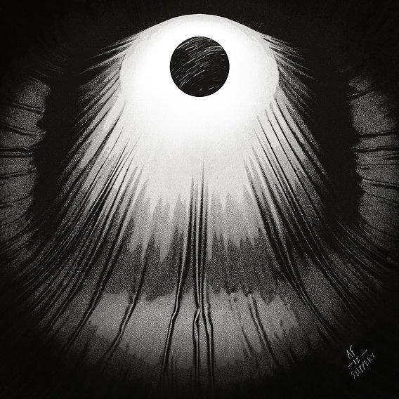 Day 12 -  Eclipse N Slips  - Inktober 2020