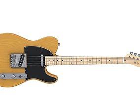 Fender Telecaster Vintage Butterscotch 3D model
