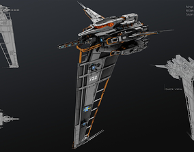 3D model game-ready Vertical Fighter