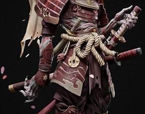 Skeleton Warrior 3D asset