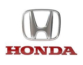Honda Logo 3D print model