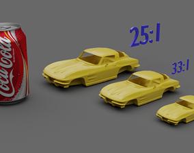 3D print model Stingray C2 coupe 1963-1967