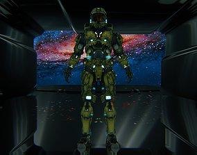 3D Master Chief - Halo