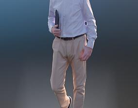 3D model Carlos 10189 - Walking Business Man