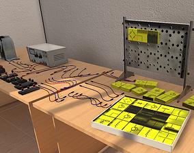 3D model Lab props