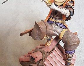 3D print model Sekiro Wolf Shinobi Statue