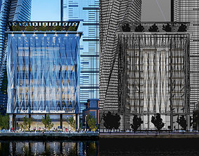 3D 101 MEADE TOWER - VRayforC4D Scene Files