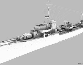 Z-37 NARVIK 3D model