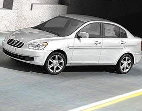 Hyundai Accent 2006 3D