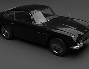 3D model 1964 AstonMartin DB5 Vantage