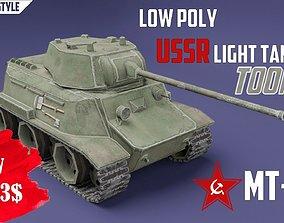 3D asset MT-25 USSR Toon Tank -Big-