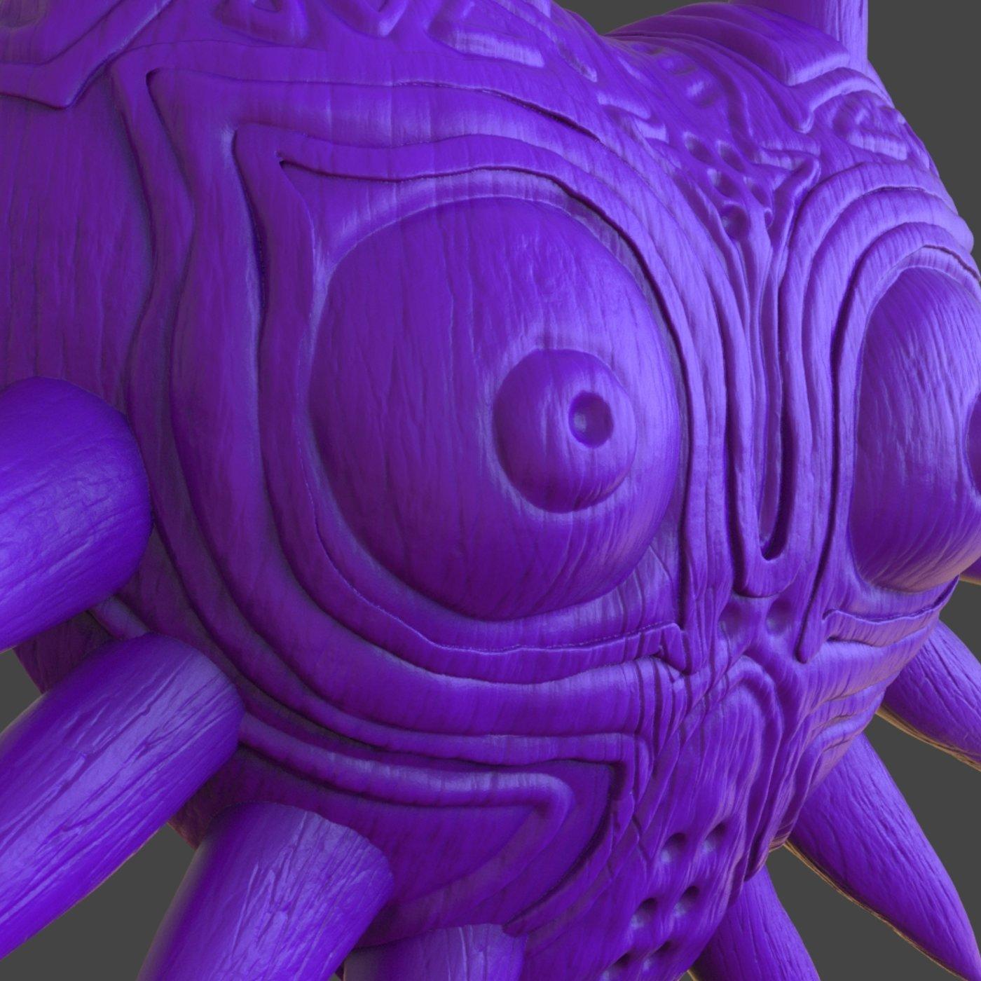 Majoras Mask 3D Print