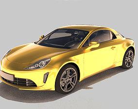 Generic Car 3D Model