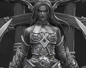 Tyrande Whisperwind - World of Warcraft 3D printable model