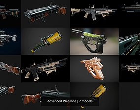 3D Advanced Weapons ak
