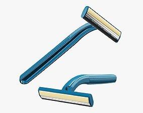 3D Disposable razor shaver man woman