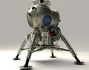 USSR Lunar Lander 3D print model