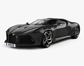 3D Bugatti La Voiture Noire 2019