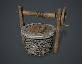 Water Well 3D asset