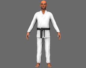 Character karate 3D