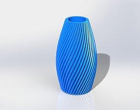 Flower Vase 3D printable model kit