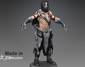 Zbrush Barbarian 3D model