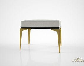 3D Alden Parkes Stiletto single bench
