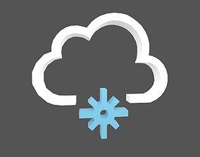 Weather Symbol v12 001 3D model