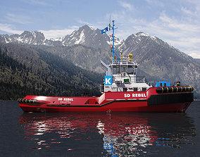 Tugboat ASD 3D