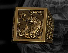 japanese ring 3D print model