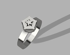 Twisted Pentagonal Ring 3D printable model