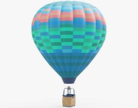 Hot Air Balloon 3D asset