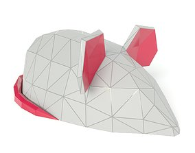 VR / AR ready Mouse polygonal model