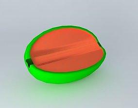 Watermelon (watermelon) 3D