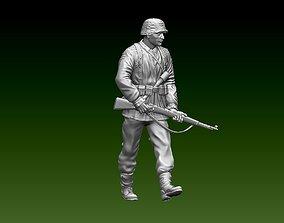 figurines 3D printable model German soldier
