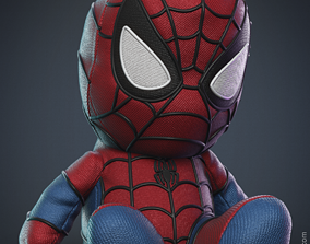 Spiderman Plush Toy 3D print model