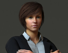 Corporate Woman 3D