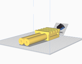 3D printable model Power Cell for proton pack