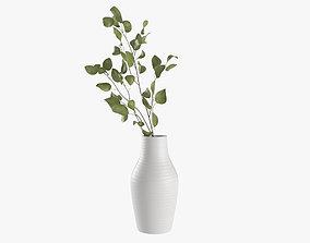 Branch in vase 3D