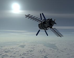 3D model Space Station Concept