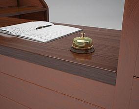 3D The Reception Desk